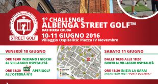 OPS GROUP SPONSOR ALBENGA STEET GOLF